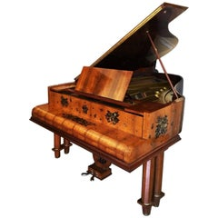 Mid-Century Modern Grand Piano by Gaveau Paris Designed by Jules Émile Leleu