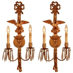 Pair of Giltwood Wall Sconces