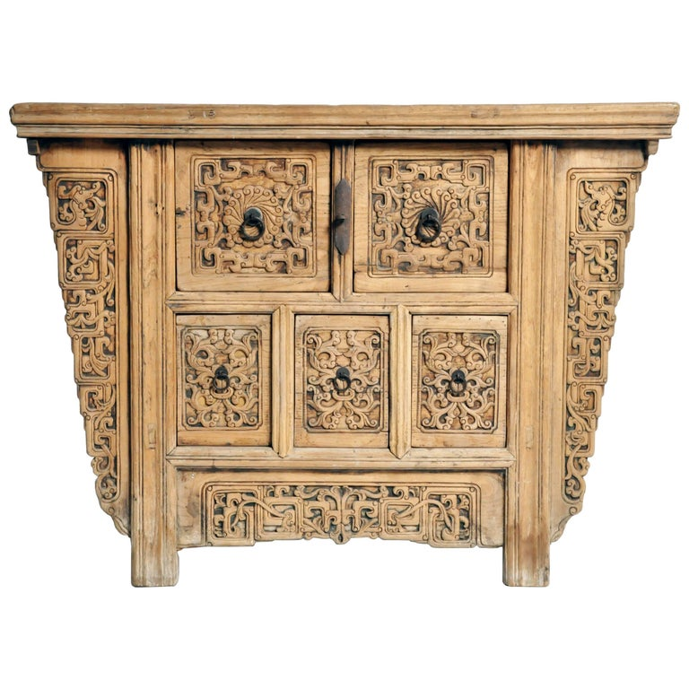 Chinese cabinet with five drawers for sale at 1stdibs for Kitchen drawers for sale