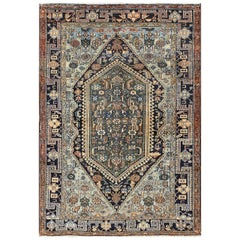 Antique Malayer Persian Carpet