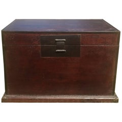 Large Superbly Carved Chinese Camphor Wood Chest At 1stdibs