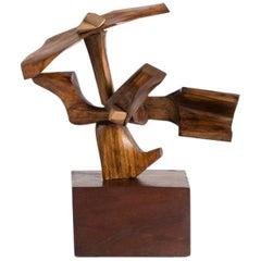 Fred Brouard, Oiseau Hélicoptère, Sculpture, France, 1990