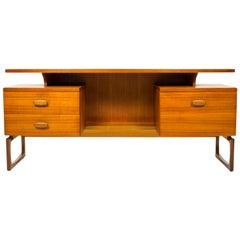 G Plan E Gomme Quadrille Desk Dressing Table, 1960, Mid-Century Bedroom Office