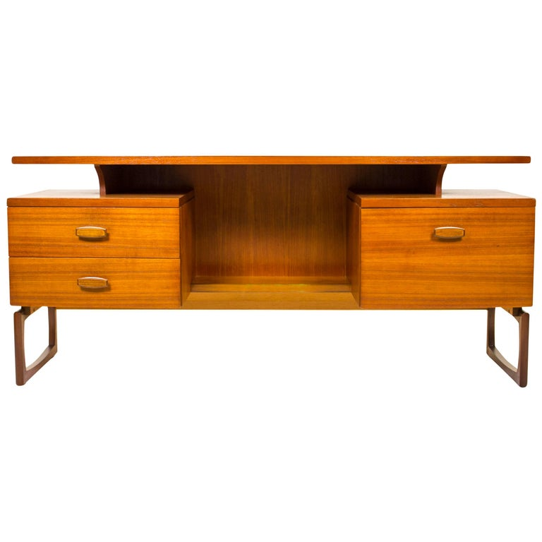g plan e gomme quadrille desk dressing table 1960 mid