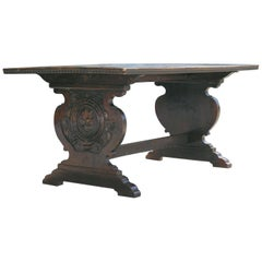 Tuscan Trestle Center Table