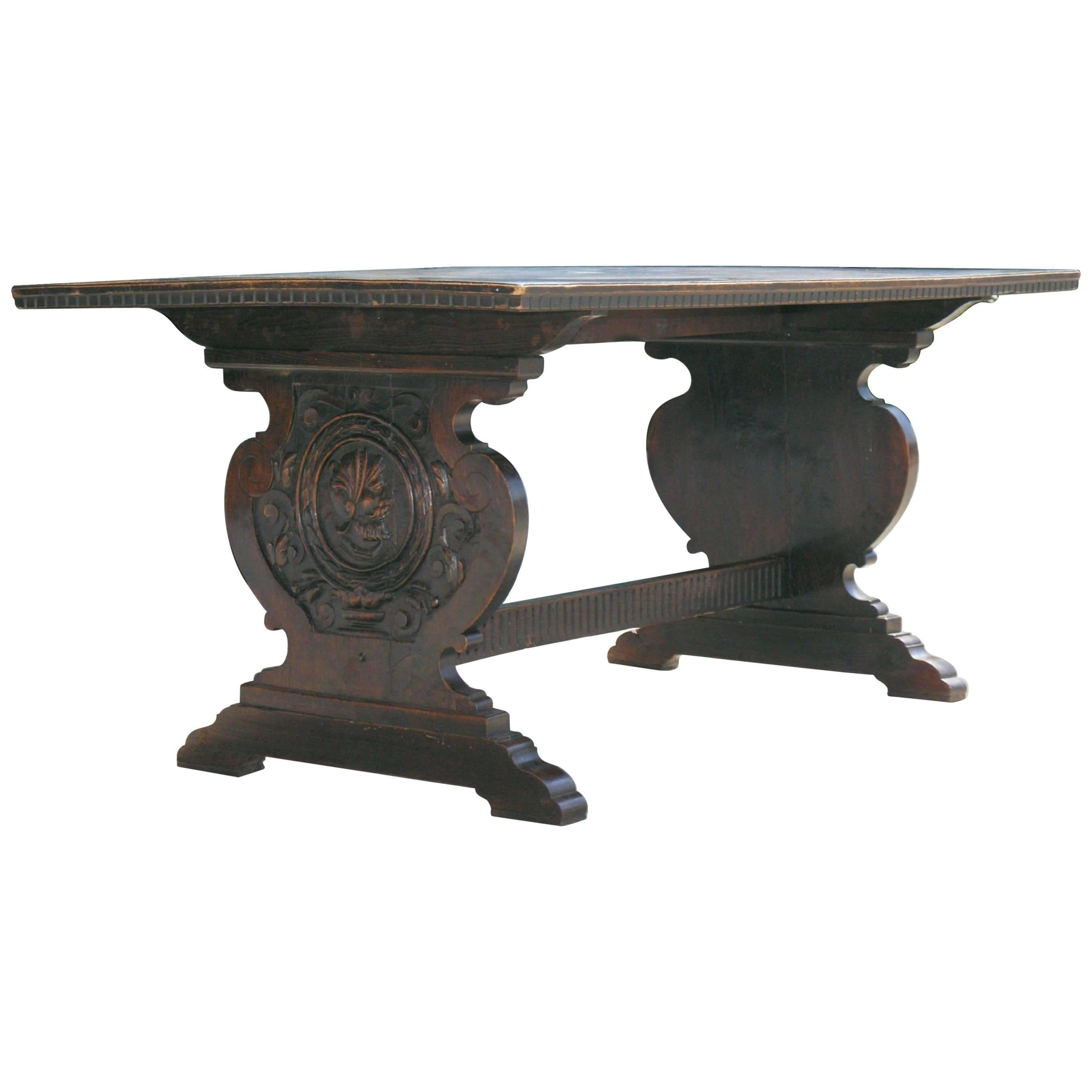 Tuscan Trestle Center Table 1