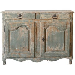 Antique Sideboard in Old Pine, 1800