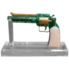 Malachite and Marble Gun