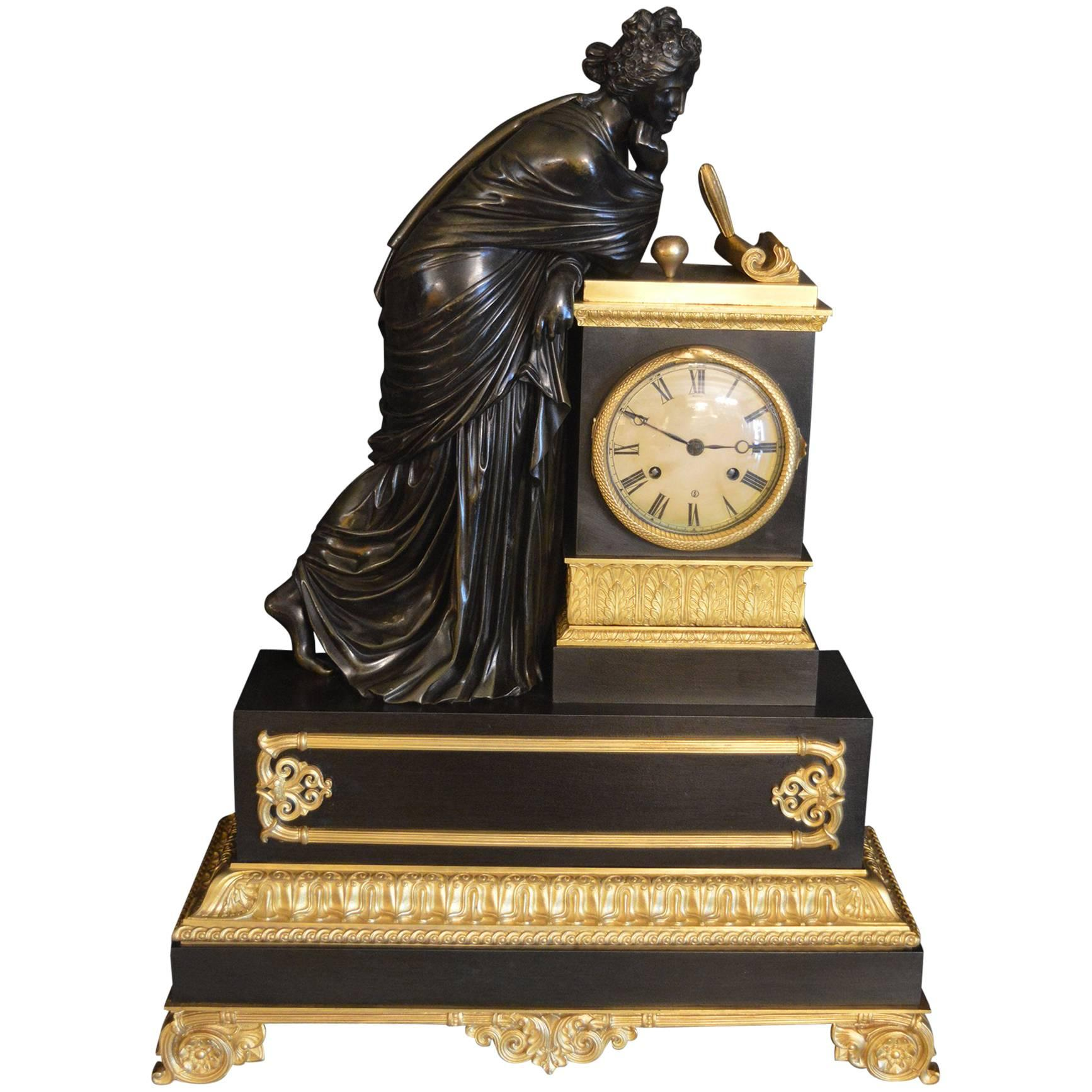 19th Century Empire French Clock