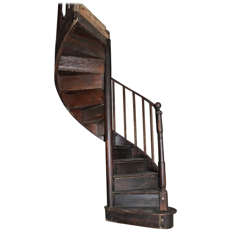 19th Century Beautiful Spiral Staircase