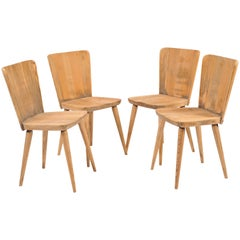 Set of Four Chairs by Göran Malmvall