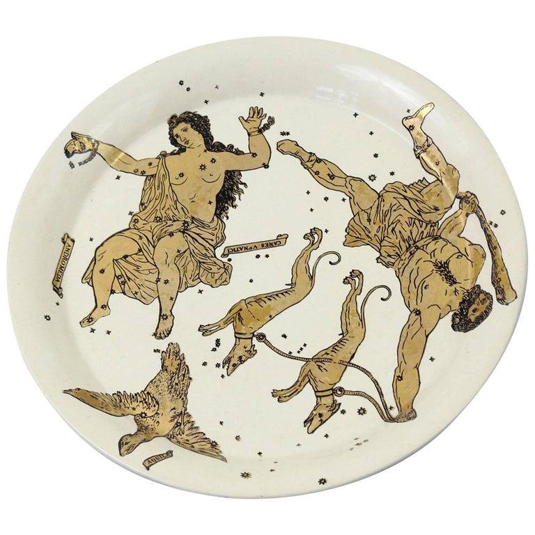 1950s, Piero Fornasetti 'Constellation' Tray