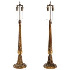 Italian Giltwood Lamps