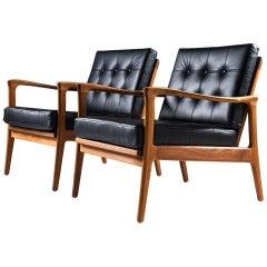 "Scandinavian Easy Chairs ""BöJa"" by Carl-Erik Johansson for Bejra Möbel"
