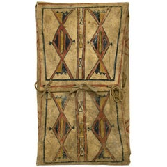 Antique Native American Parfleche Envelope, Blackfeet, circa 1875