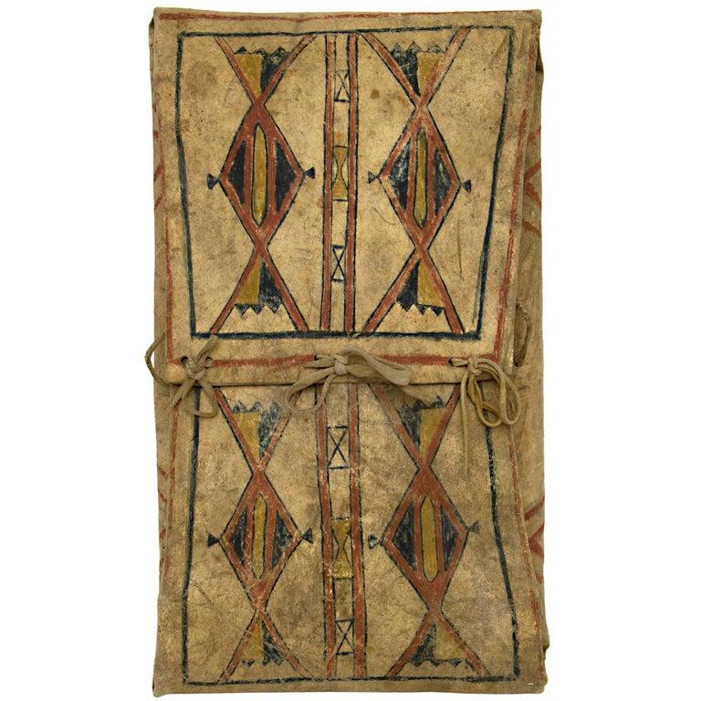 Antique Native American Parfleche Envelope, Blackfeet ...
