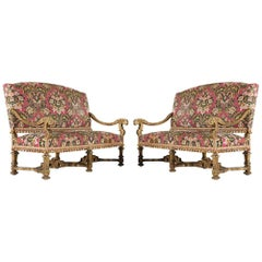 French Baroque Settees