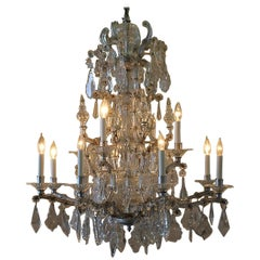 Early 20th Century Maria Theresa Chandelier