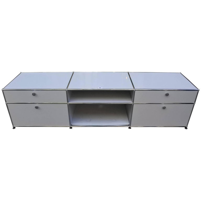 USM Haller Custom Order Console and Storage Unit 1