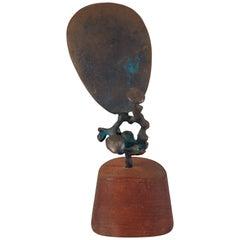 Modernist Bronze Sculpture