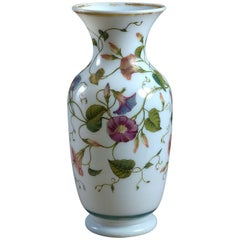 Fine 19th Century, French Opaline Glass Vase or Table Lamp