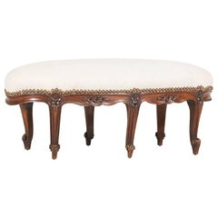 1920s French Louis XV-Style Footstool