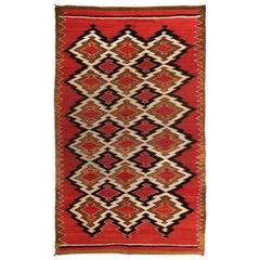 Antique Navajo Transitional Blanket/Weaving, 19th Century