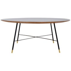 Ico Parisi Circular Coffee Table for Cassina, circa 1950