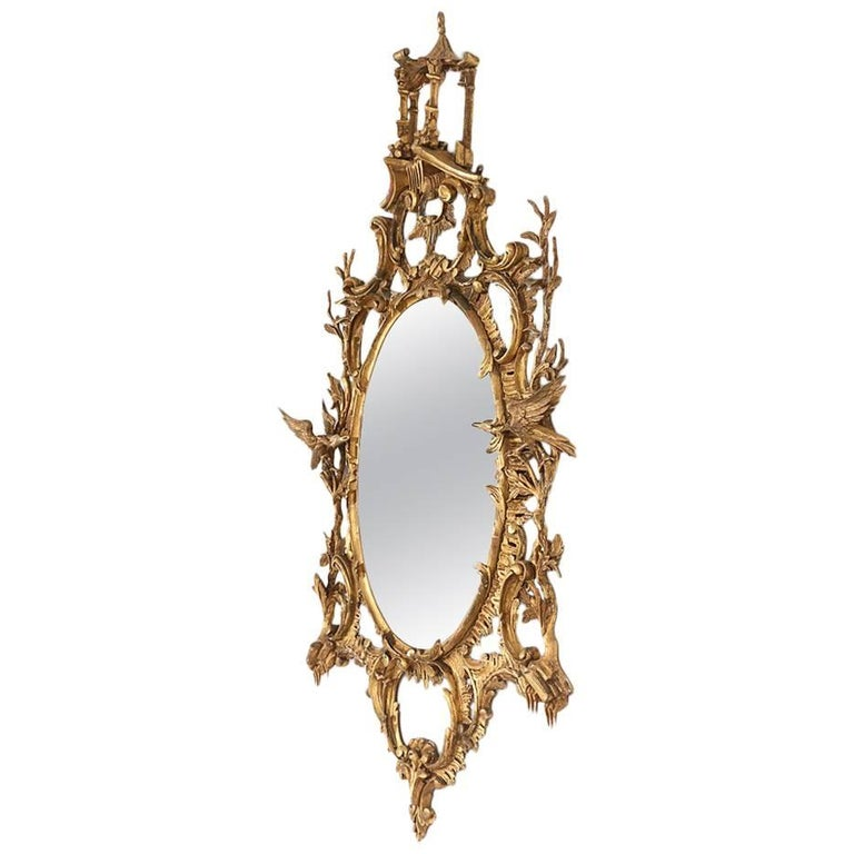 Early 20th Century Italian Chippendale Style Mirror At 1stdibs
