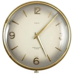 Large Mid-Century Wall Clock