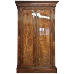 19th Century Mahogany Wardrobe or Cabinet, circa 1830