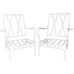 Pair of Salterini Patio Armchairs