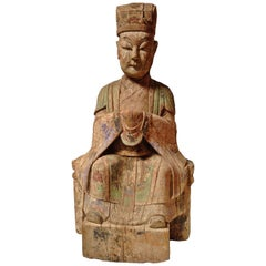 Monumental Antique Statue, Imperial Advisor