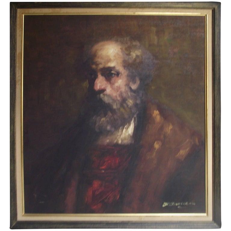 Artist Signed Portrait of a Man