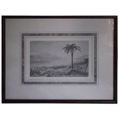 Framed Print by Edward Francis Finden, English Engraver
