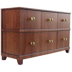 Rare Gilbert Rohde Paldao Wood Dresser