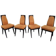 Harvey Probber Dining Chairs, Set of Four