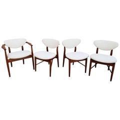 Finn Juhl Attributed Dining Chairs