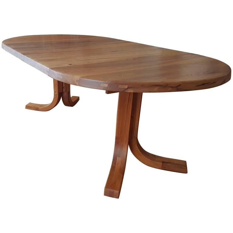 Table T 40 D of Pierre Chapo of 1970 in French Elm