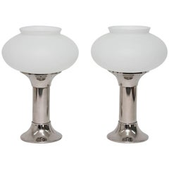 Two VEB Narva Table Lamps, 1960s