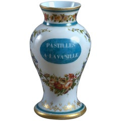 Louis Philippe Opaline Glass Vase or Lamp Base