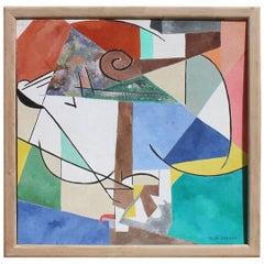 Tauba Sarnaka Beautiful Abstract Oil on Canvas