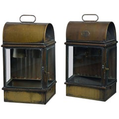 Pair of Large Late 19th Century Wall Lanterns