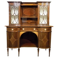 Fine Quality Mahogany Waring & Gillows Side Cabinet or Sideboard