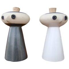 Salt and Pepper Service by David Gil for Bennington Potters, USA