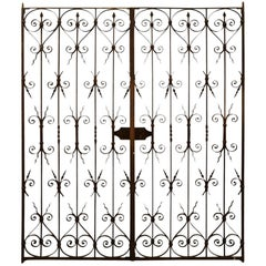 18th Century French Iron Gates