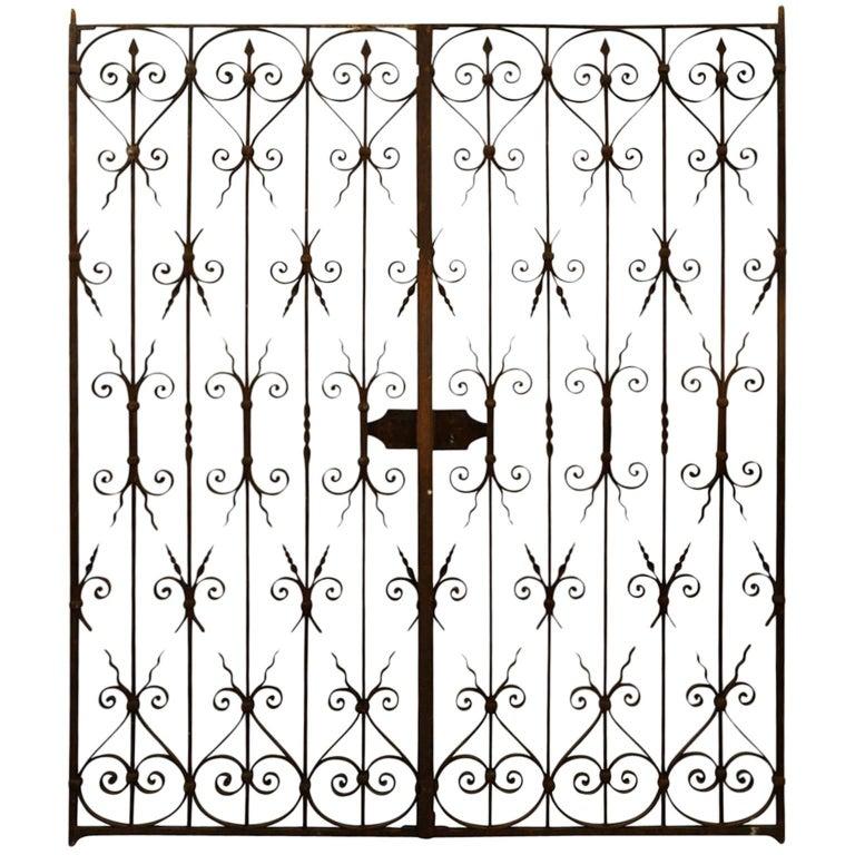 18th Century French Iron Gates
