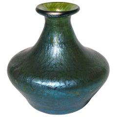 Art Nouveau Loetz Crete Papillon Small Vase