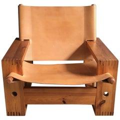 Vintage Dutch Easy Chair Designed by Ate Van Apeldoorn, 1970s