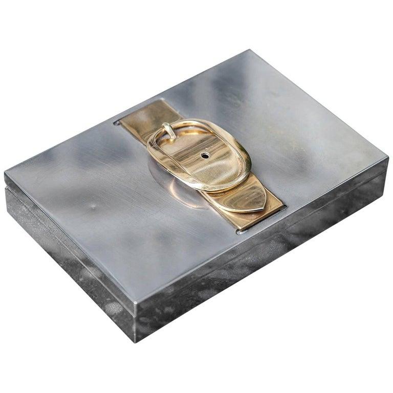 Hermes Cigar Box Signed